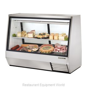 True TDBD-72-2 Display Case, Refrigerated Deli