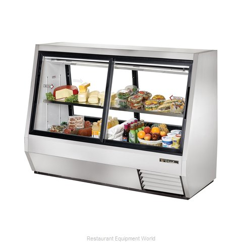 True TDBD-72-4 Double-Duty Deli Case