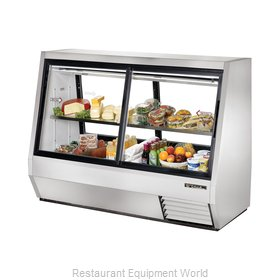 True TDBD-72-4 Display Case, Refrigerated Deli