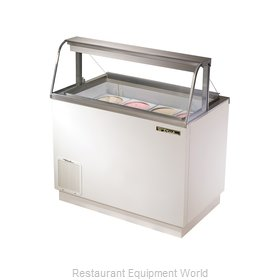 True TDC-47-CG Ice Cream Dipping Cabinet