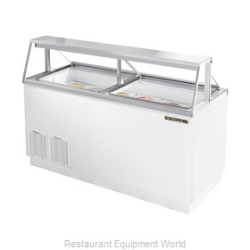 True TDC-67 Dipping Cabinet
