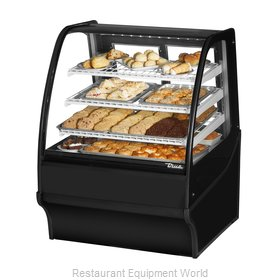 True TDM-DC-36-GE/GE-B-W Display Case, Non-Refrigerated Bakery