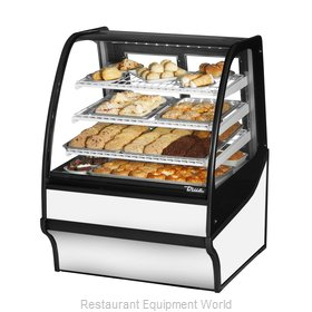 True TDM-DC-36-GE/GE-S-W Display Case, Non-Refrigerated Bakery
