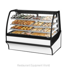 True TDM-DC-59-GE/GE-W-W Display Case, Non-Refrigerated Bakery
