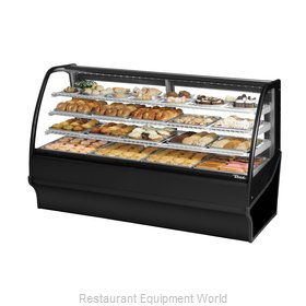 True TDM-DC-77-GE/GE-B-W Display Case, Non-Refrigerated Bakery