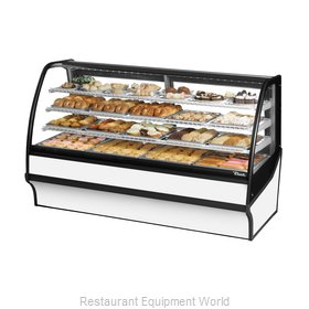 True TDM-DC-77-GE/GE-S-W Display Case, Non-Refrigerated Bakery