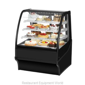 True TDM-R-36-GE/GE-S-S Display Case, Refrigerated Bakery