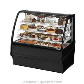 True TDM-R-48-GE/GE-B-W Display Case, Refrigerated Bakery