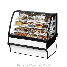 True TDM-R-48-GE/GE-S-W Display Case, Refrigerated Bakery