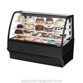 True TDM-R-59-GE/GE-S-S Display Case, Refrigerated Bakery