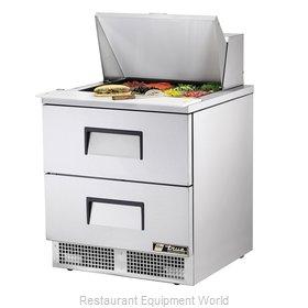 True TFP-32-12M-D-2 Refrigerated Counter, Mega Top Sandwich / Salad Unit