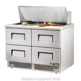True TFP-48-18M-D-4 Refrigerated Counter, Mega Top Sandwich / Salad Unit