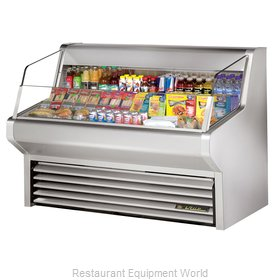 True THAC-60-S Horizontal Air Curtain Merchandiser
