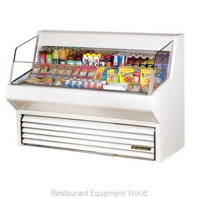 True THAC-60 Horizontal Air Curtain Merchandiser