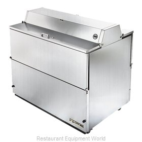 True TMC-49-S-DS-SS Mobile Milk Cooler