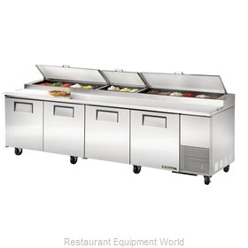 True TPP-119 Refrigerated Counter, Pizza Prep Table