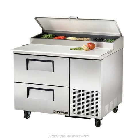 True TPP-44D-2 Refrigerated Counter, Pizza Prep Table