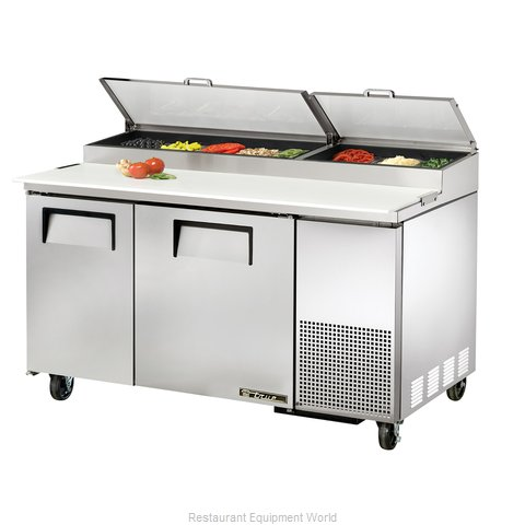 True TPP-60 Refrigerated Counter, Pizza Prep Table