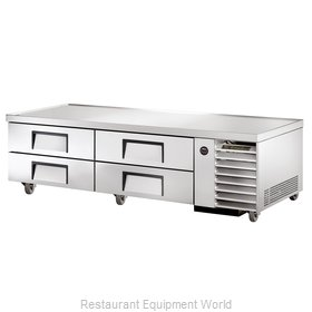 True TRCB-79 Refrigerated Chef Base - Two Section
