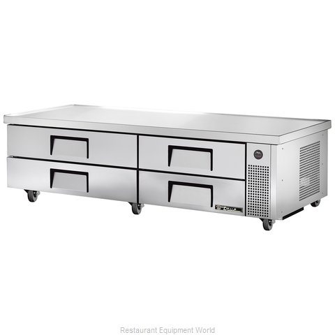 True TRCB-82-84 Refrigerated Counter Griddle Stand