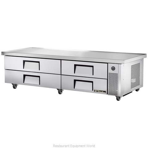 True TRCB-82-86 Refrigerated Counter Griddle Stand