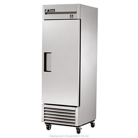 True TS-23F 23 Cu Ft Stainless Steel Solid Door Reach-In Freezer (Magnified)
