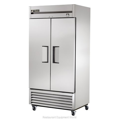 True TS-35F 35 Cu Ft Stainless Steel Solid Door Reach-In Freezer (Magnified)