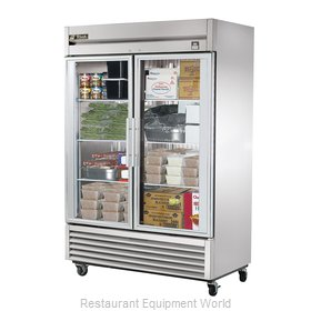 True TS-49FG-LD Reach-In Freezer 2 sections