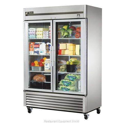 True TS-49G-LD Reach-in Refrigerator 2 sections