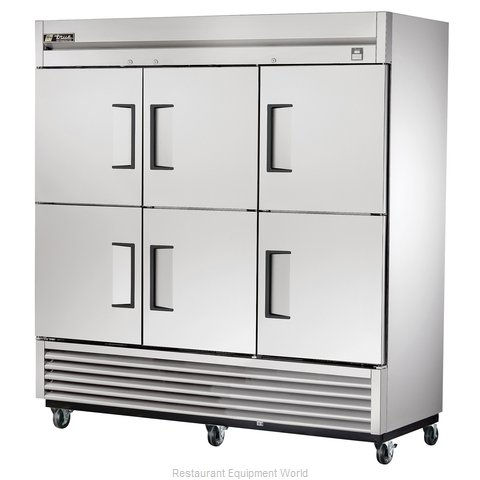 True TS-72-6 Reach-in Refrigerator 3 sections