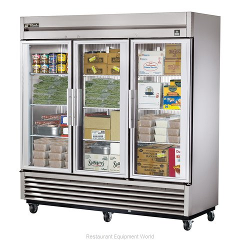 True TS-72FG-LD Reach-In Freezer 3 sections