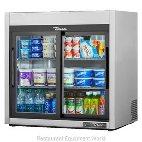 True TSD-09G-HC-LD Display Case, Refrigerated, Countertop