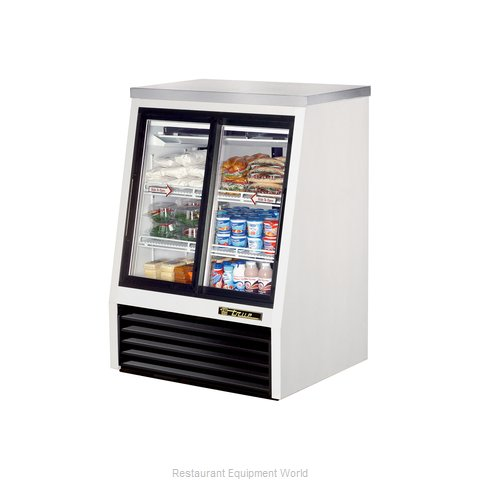 True TSID-36-4 Display Case, Refrigerated Deli