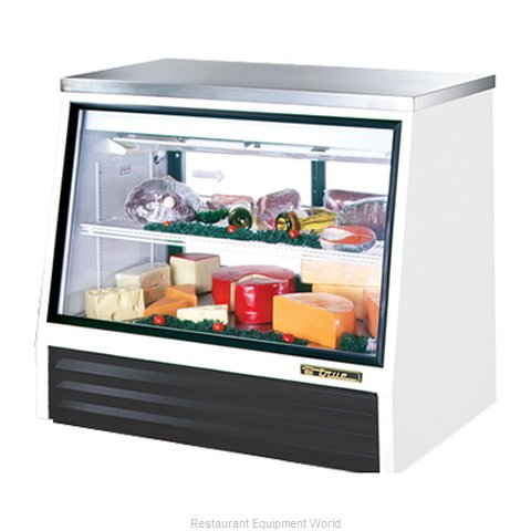 True TSID-48-2-L Single-Duty Deli Case