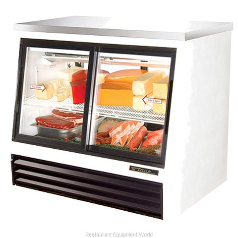 True TSID-48-4-L Display Case, Refrigerated Deli (Magnified)