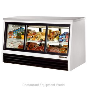 True TSID-72-6-L Single-Duty Deli Case
