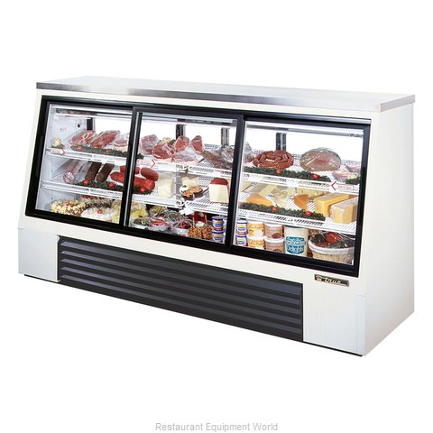 True TSID-96-6 Display Case, Refrigerated Deli (Magnified)