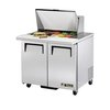 True TSSU-36-12M-B Mega Top Sandwich/Salad Unit