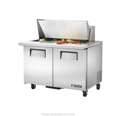 True TSSU-48-18M-B Mega Top Sandwich/Salad Unit