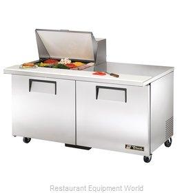 True TSSU-60-12M-B-HC Refrigerated Counter, Mega Top Sandwich / Salad Unit
