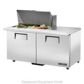 True TSSU-60-15M-B-ADA-HC Refrigerated Counter, Mega Top Sandwich / Salad Unit