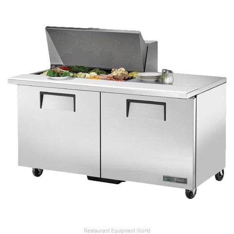True TSSU-60-15M-B-HC Refrigerated Counter, Mega Top Sandwich / Salad Unit
