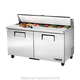 True TSSU-60-16 Sandwich/Salad Unit