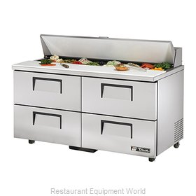 True TSSU-60-16D-4-ADA Refrigerated Counter, Sandwich / Salad Top