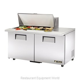 True TSSU-60-18M-B-ADA Refrigerated Counter, Mega Top Sandwich / Salad Unit