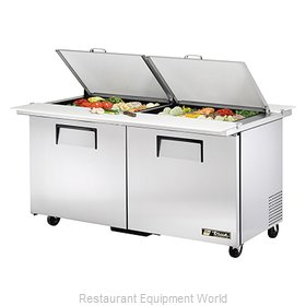 True TSSU-60-24M-B-DS-ST Mega Top Sandwich Unit