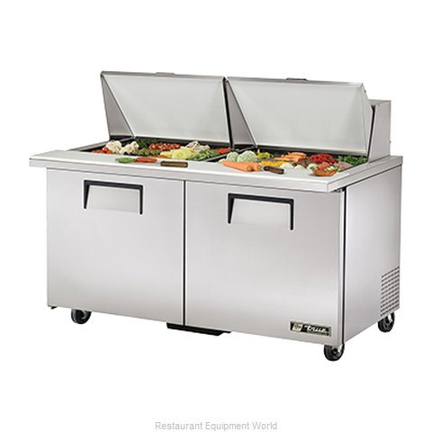 True TSSU-60-24M-B-ST Mega Top Sandwich/Salad Unit (Magnified)