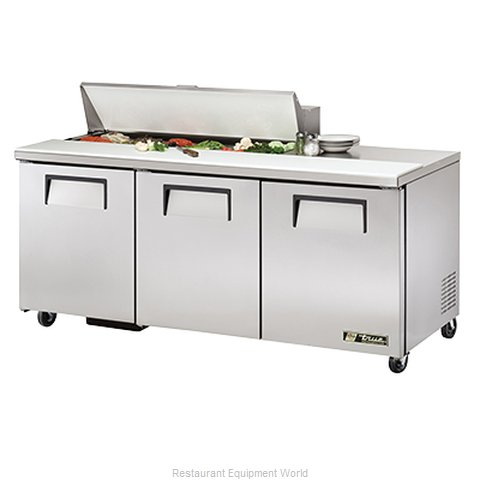True TSSU-72-12 Refrigerated Counter, Sandwich / Salad Top (Magnified)