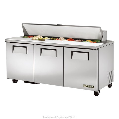 True TSSU-72-18 Refrigerated Counter, Sandwich / Salad Top (Magnified)