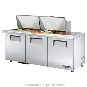 True TSSU-72-24M-B-ST-ADA Mega Top Sandwich Unit